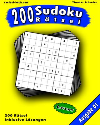 Cover 9x9 Sudoku Leicht