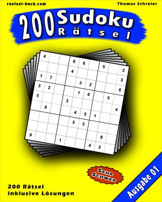 Cover 9x9 Sudoku Schwer