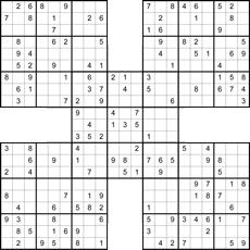Sudoku drucken u. spielen